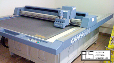Kongsberg CM1320 table